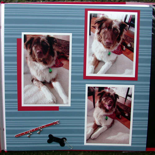 Brock scrapbook- feb photoshoot pg 2