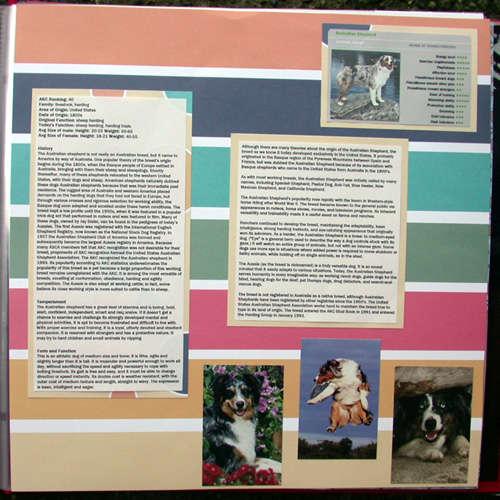 Brock scrapbook- aussie info pg 2