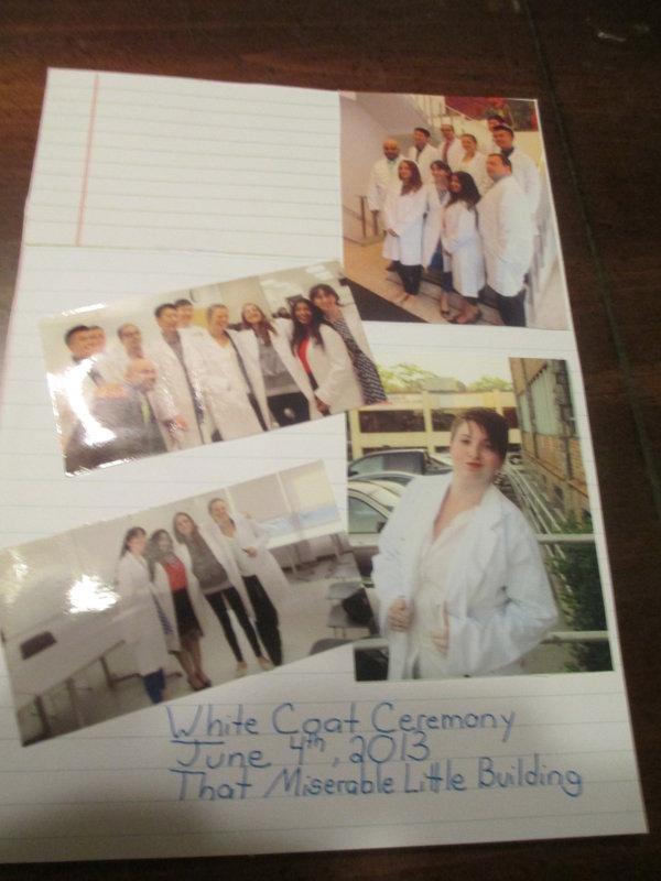 Snap Book White Coat Ceremony