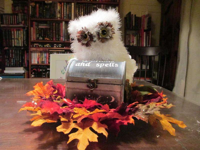 Owl Halloween Decoration