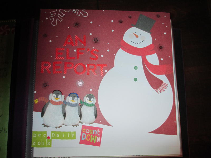December Daily 2012 Cover Page