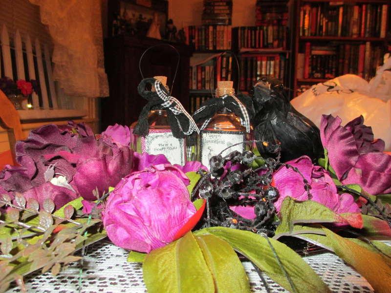 Bottles Halloween Decoration