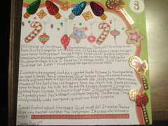 December Daily 2013 Day Three Journaling