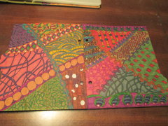 Zentangle Snap Book Divider Pages Set 1