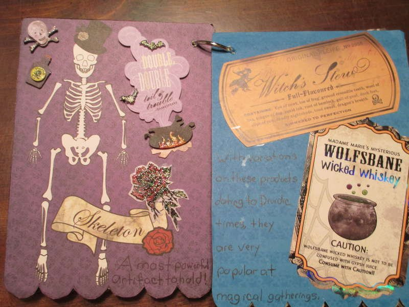 For Wise Witches Pages 3-4