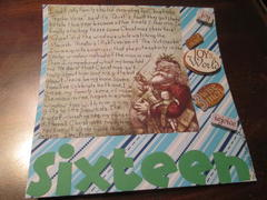 December Daily Day 16 2012 Journaling