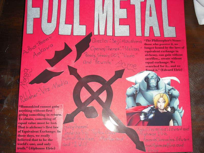 Fullmetal Alchemist Part 1