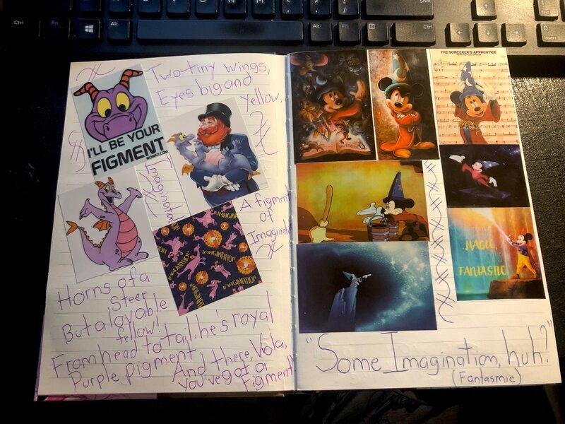 Disney Junk Journal