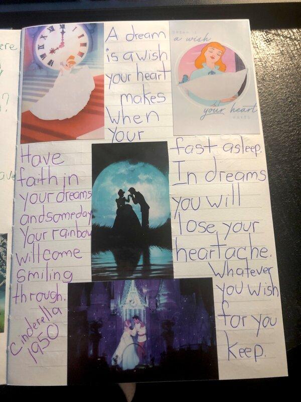 Disney Junk Journal- Cinderella