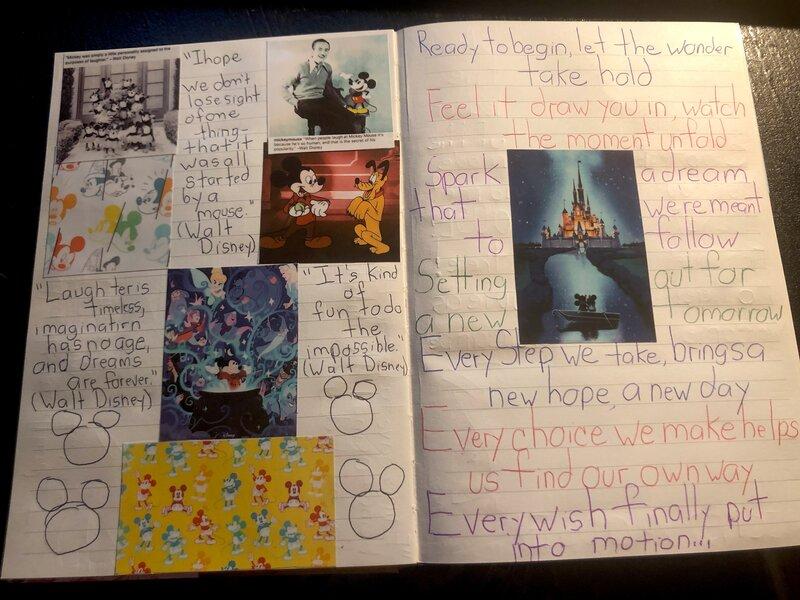 Disney Junk Journal- Mickey Mouse