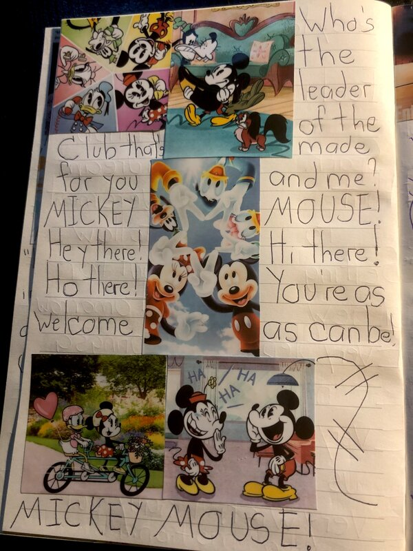 Disney Junk Journal- Mickey Mouse