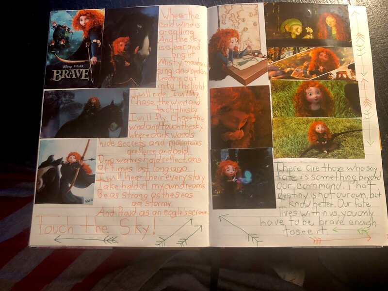 Disney Junk Journal- Brave