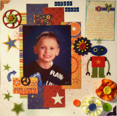 Christopher's Second Grade layout