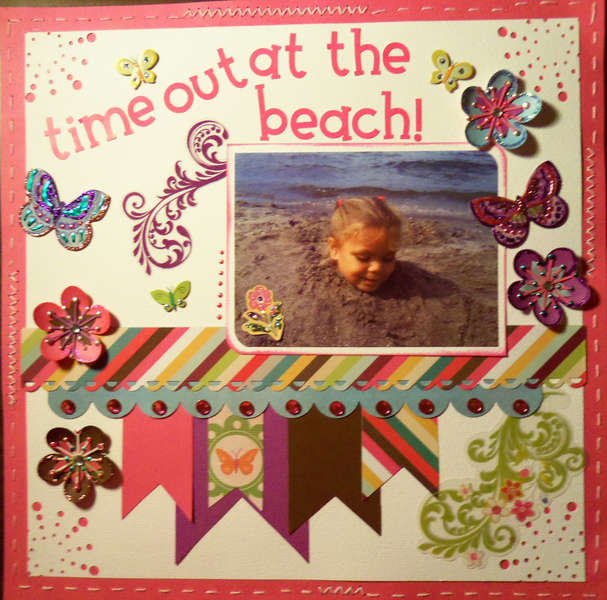 Time Out at the Beach!