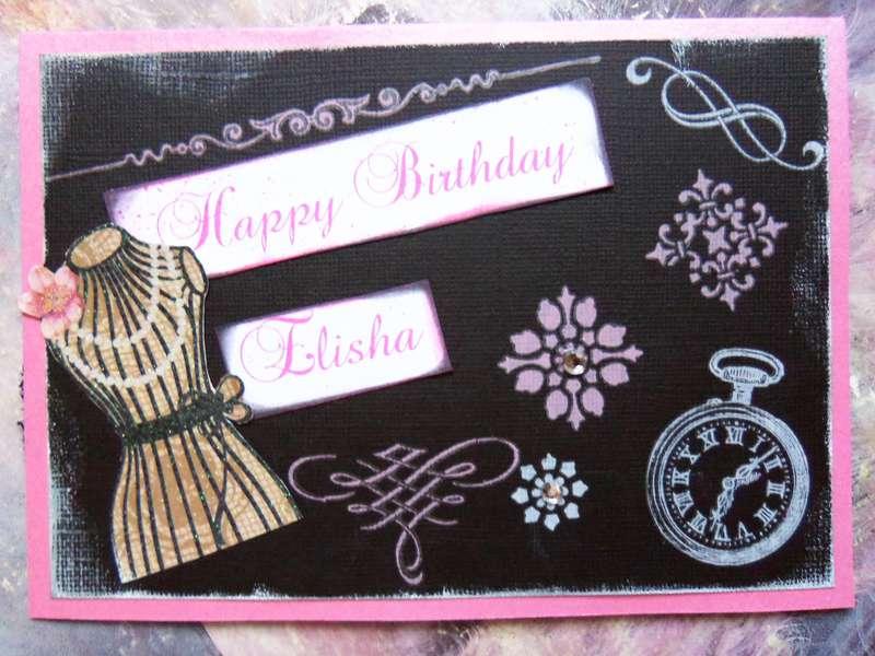Happy Birthday Elisha card