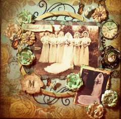 BEAUTIFUL BRIDE ~ **SCRAPS OF DARKNESS** ~ February ~ Victoriana Kit