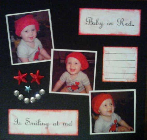 Baby in Red. Landyn Album