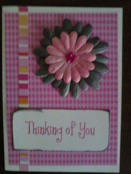 Thinking of You- 5 minute card