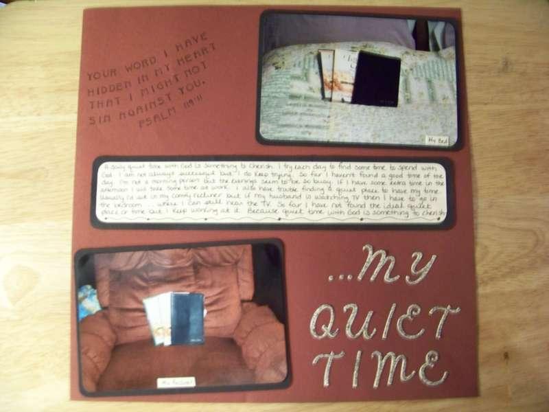 ...My Quiet Time
