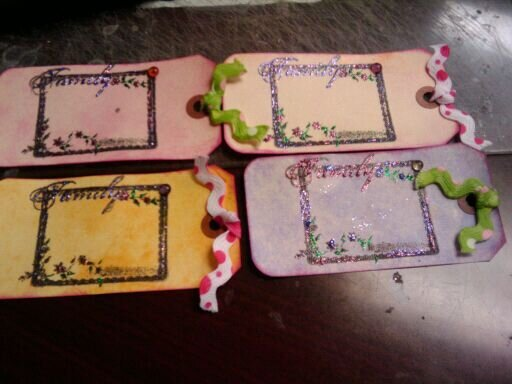 family spot tags for Katies swap