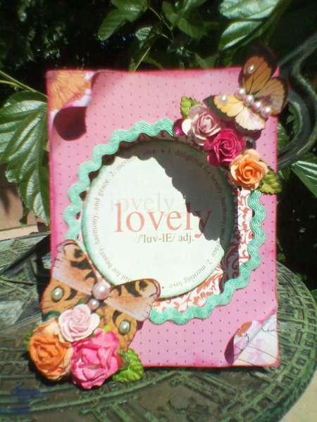 """""""Lovely"""" window card"""