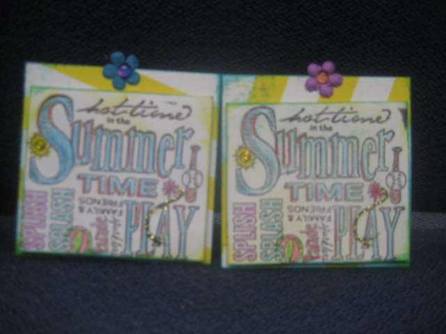 Summer spot for the page candy swap