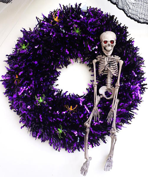 Dressing Up A Big Box Store Wreath
