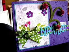 Birthday card **Sketches2Scrapbook**