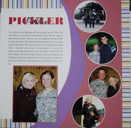 Kellie Pickler in Iraq