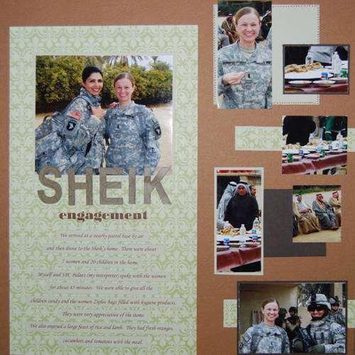 Another Sheik Engagement