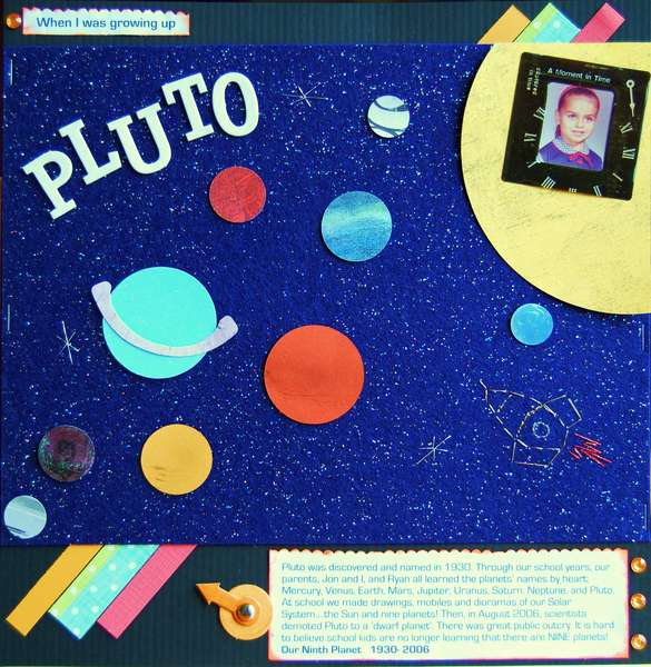 When I was Growing Up, Pluto was A Planet!