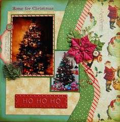 Ho Ho Home for Christmas~