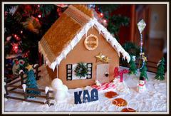 Gingerbread House- Faith, Hope, Love!