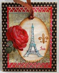 February Eiffel Tower
