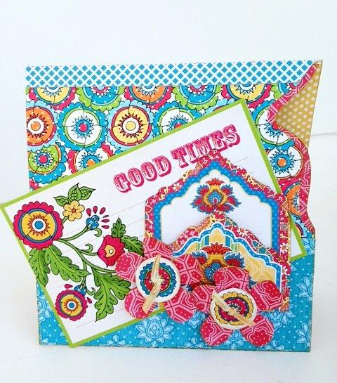 Bohemian Bazaar Card