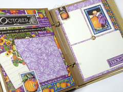 Children's Hour Mixed Media Scrapbook Album