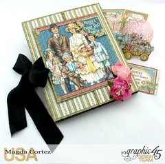 Penny's Paper Doll Family Book