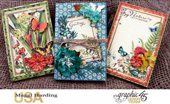 Notepads made with Nature Sketchbook