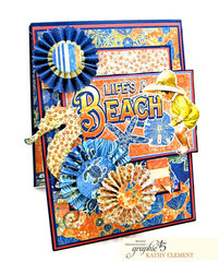 Life's a Beach Card Folio
