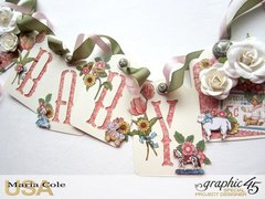 Penny's Paper Doll Family ATC Tag Banner
