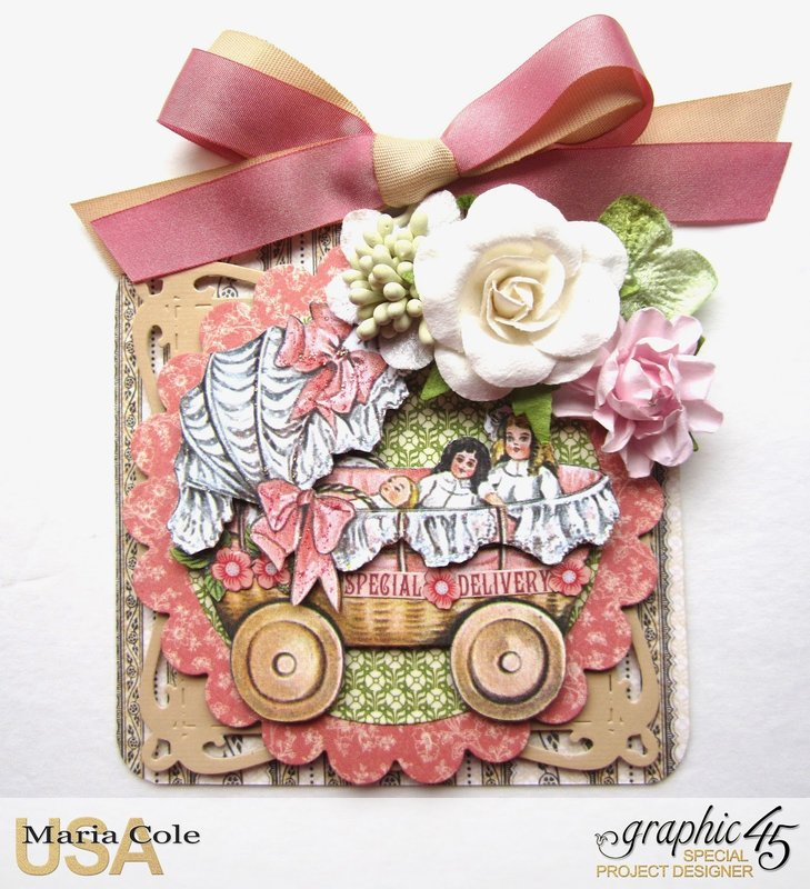 Penny's Paper Doll Family Square Tag