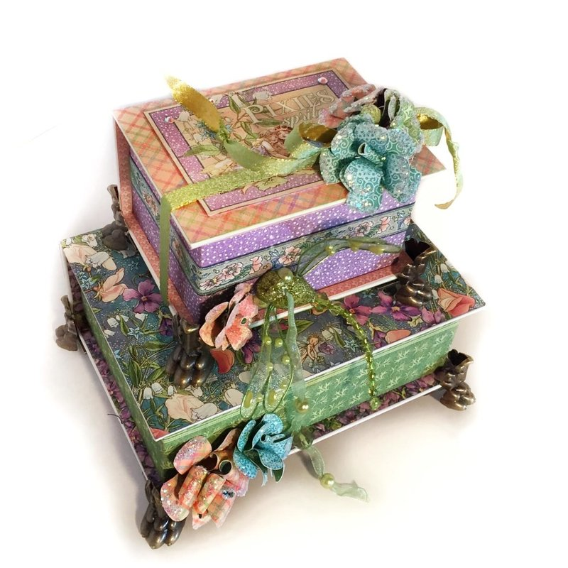 Altered Book Boxes