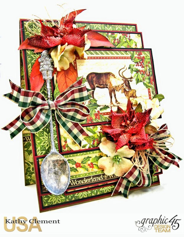 Kathy's Spoonful of Christmas Card using the Winter Wonderland Collection