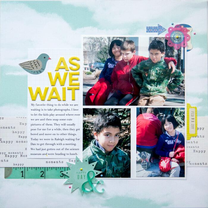 As We Wait