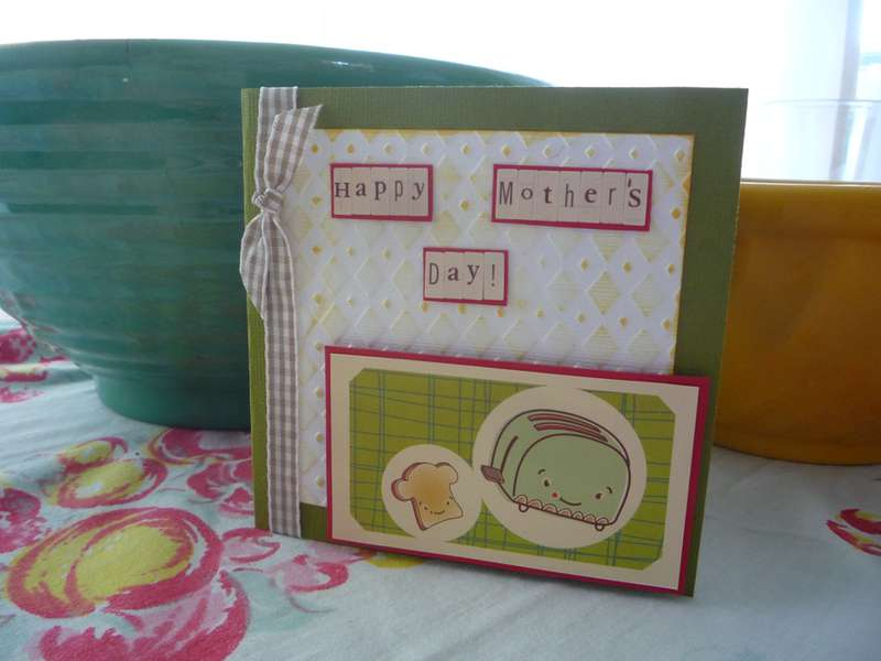 Happy Mother's Day - Vintage Toaster