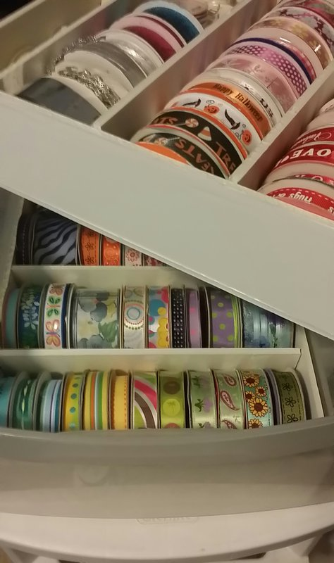 Organized my ribbons