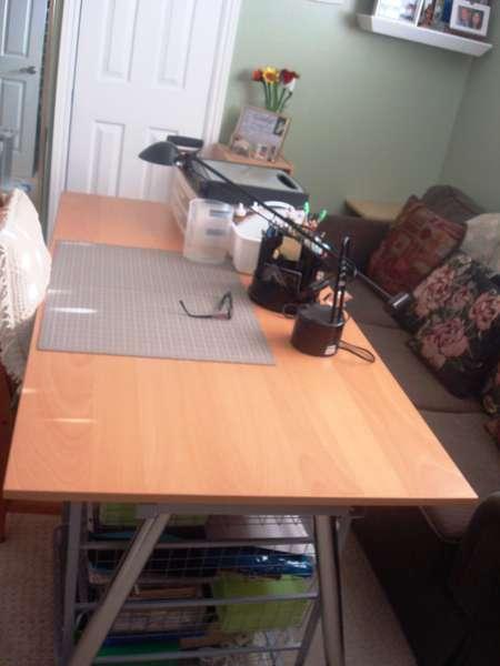 My Scrapbook Desk