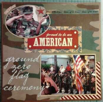 9-11 Ground Zero Flag Ceremony pg 2
