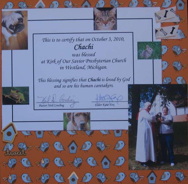 Chachi's Baptism
