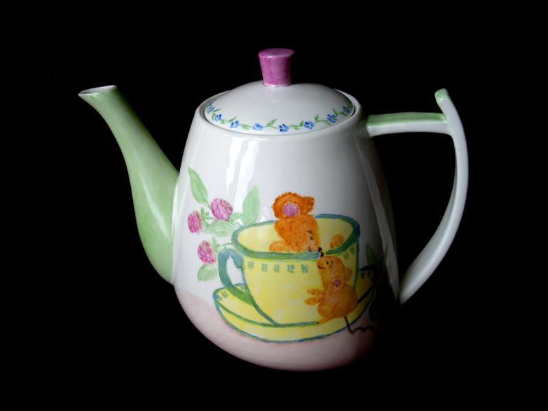 China Painting - Tea Pot!